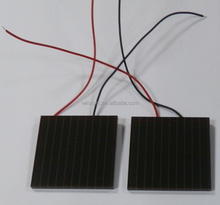 83x85.5x3.2mm 5V 45mA outdoor used Thin Film Amorphous Silicon Solar Cells for Outdoor Products