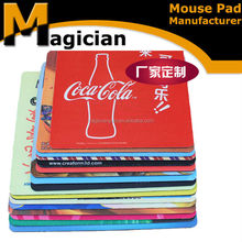 top quality ad customizable branded mouse pad for desk