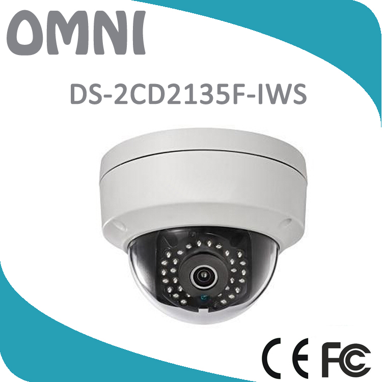 Wireless IP Camera With Dual Audio In/out WIFI CCTV IP Camera With SD Card Slot