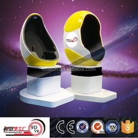 2016 Dynamic Virtual 9D Egg Cinema VR 9D Cinema/Theater Simulator For Oversea Market