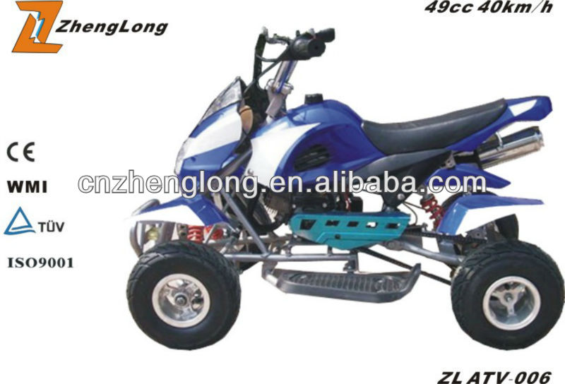 CE certification 50cc sport racing quad atv
