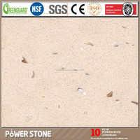 20mm Artificial Seashell Quartz Stone
