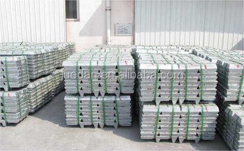 zinc ingot and zinc alloy hydrometallurgy process of making alloy special high grade