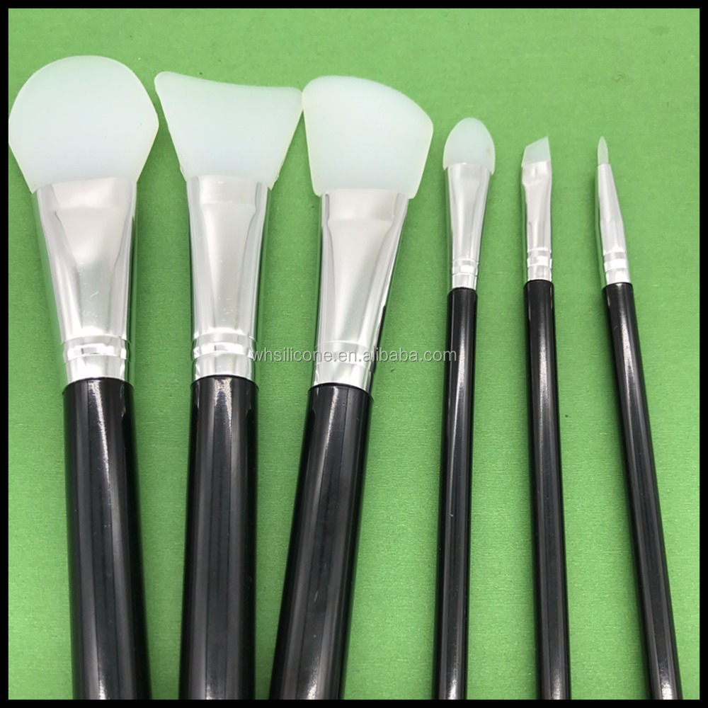 China factory wholesale personalized silicone makeup brushes set
