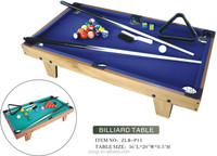 Kids games mini billiard table /pool table for entertainment