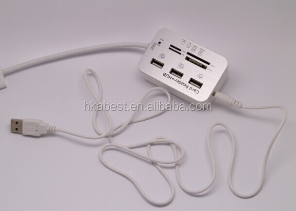 All-In-One COMBO 3 Ports USB 2.0 Hub Card Reader driver