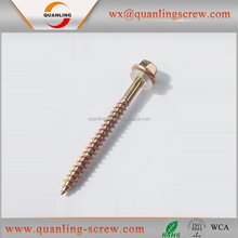 Alibaba china supplier hex head decorate roofing screw