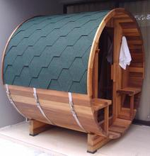 Mini traditional sauna room,barrel sauna outdoor
