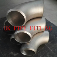 Incoloy 800 ASTM B366 180 deg Long Radius Elbow Incoloy 800 ASTM B366 180 deg Short Radius Elbow