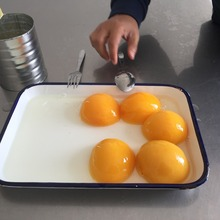 CANNED YELLOW PEACHES 800GRAM NORMAL LID very elastic peach flesh/manufacure/since 1958