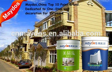 Exterior washable building flat latex paint algae resistant coating