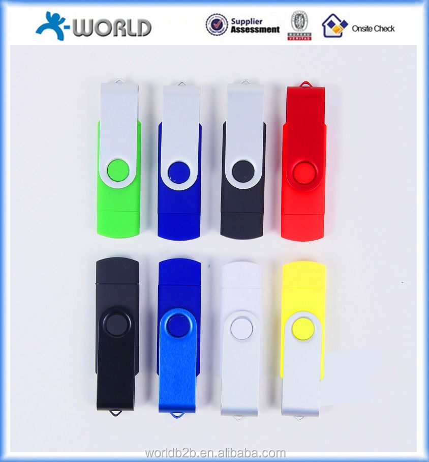 mobile phone memory expansion colorful micro usb flash drive