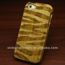 Specail design wood stripe case for iphone 5, for iphone5 accessory