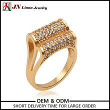 JN4018 China jewelry Factory Direct newest cheap style finger ring brass jewelry