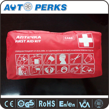 Red Cross Integrated EVA waterproof certificated German first aid kit bag