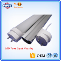 Aluminum Alloy T8 LED Tube Light Cover/Housing/Shell