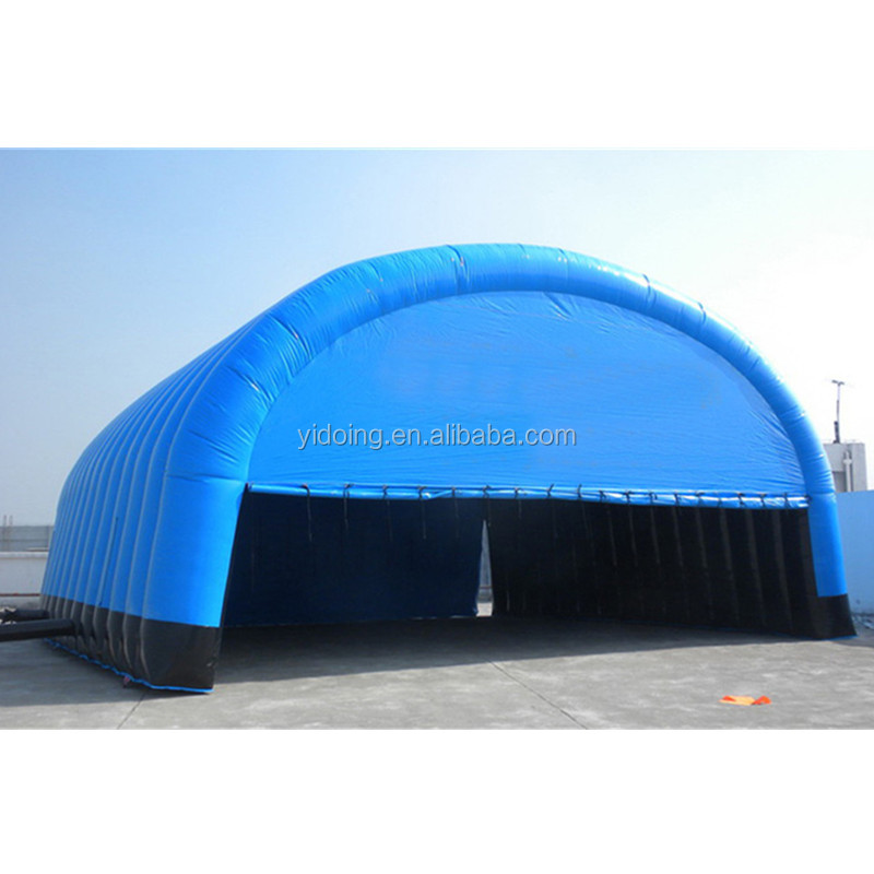Outdoor blue inflatable tunnel tent, inflatable marquee for sale K5057