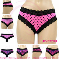 New fashion 0.39USD cheeky panties with lace for girls ladies women very hot sale in European and American market cheap cheeky