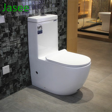 Dual flush sanitary ware floor mounted one piece wc ceramic toilet