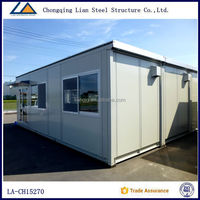 Small Luxury Bungalows Steel Frame Prefabricated House