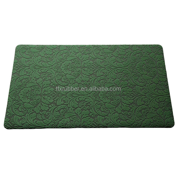 carpet ruber/printed floor mat/kitchen carpet