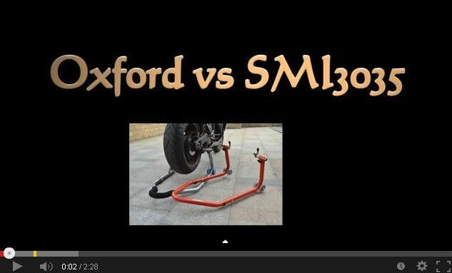 Sumomoto Motorcycle lift Rear Paddock Stand with Square Tube L or V Shape Hardware SMI3035