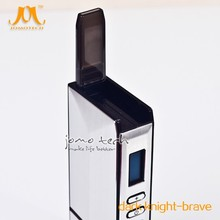 China Supplier Chamber Ceramic Heating Wholesale Dry Herb Vaporizer Pen Dry Herb Titan 2 Vaporizer Dark Knight Brave