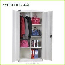 Best selling metal bedroom furniture design double door steel cupboard