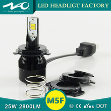 25w 2800lm led motorcycle headlight