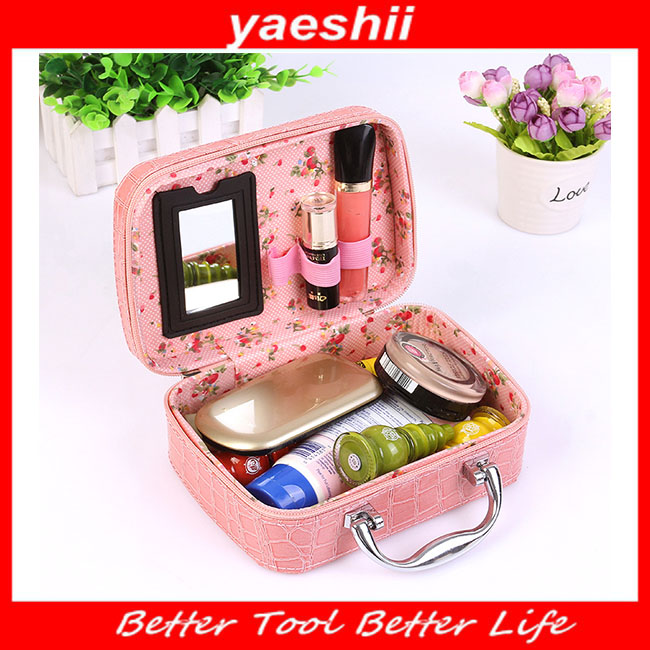 Yaeshii travel accessories cosmetic ladies fashion makeup bag in 2017
