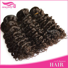 Brazilian Short Style Deep Curl Weave Remy New Hair Designs For Girls