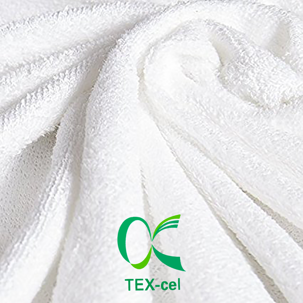 Low Price TEX-cel 20% Polyester 80% Cotton Laminated Terry Towel Fabric