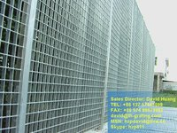 galvanized welded steel fence,galvanised steel grating wall,galvanised welded fence