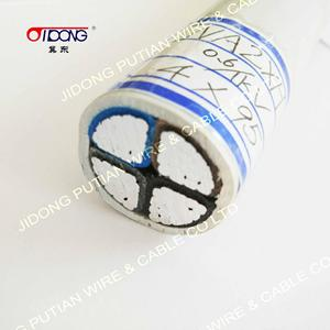 Power cable with SABS 1507 certificate Steel wire armored