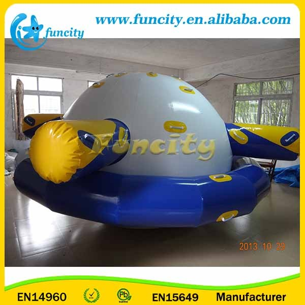 Hot Sale Shaking Inflatable Water Saturn For Water Park Toys