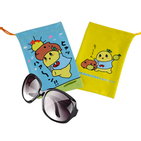 hot sale custom funny cartoon sunglass pouch with logo printed
