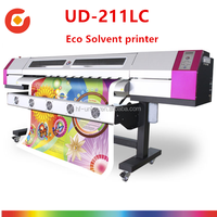 Large inkjet thunderjet v1802s eco solvent printer UD-211LC Universal galaxy eco printing machine with epson DX5 printhead