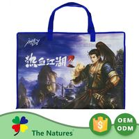 New Product Good Price Non-Woven Glow In The Dark Plastic Hook Bag For Bag