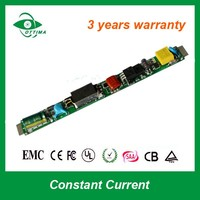 CE ROHS Approve LExternal LED driver T5 LED tube light open frame Switching Power Supply