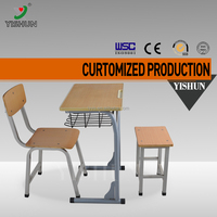 Modern school desk and chair student study table and chair set