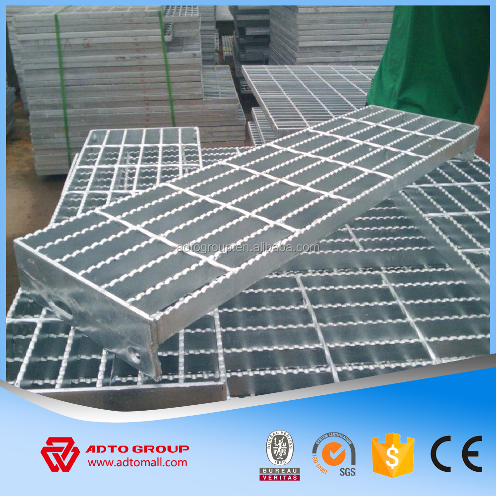 China High Quality Welded Steel Bar Grating Heavy Duty Standard Size Weight For Walkway Flooring Ramps For Sale 2017