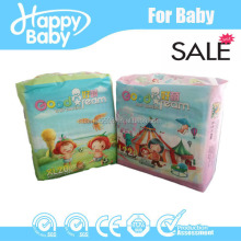 2 Containers Good quality Disposable Baby Diaper with Printed Cloth-like Film in Yiwu