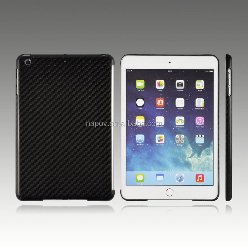 New Arrival Stylish Hot Sale for iPad Mini 3 CoverCarbon Fiber Case