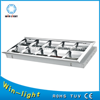China manufacturer alibaba double parabolic louver light fittings