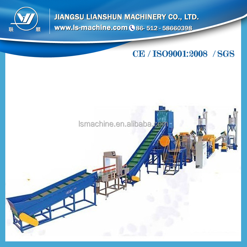 Factory direct sale plastic recycling machine china for recycling plastic