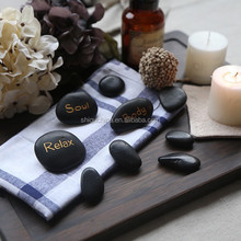 2015 ShiQu new engraved massage stone set