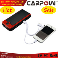 Emergency Car Tool Kit 12000mAh Power Bank For Mobile Devices Mini Portable Jump Starter