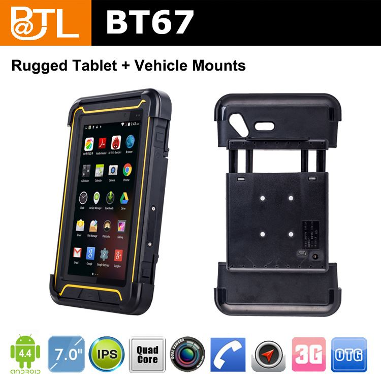 WDF295 BATL BT67 easy operation sunglasses rugged android tablets dual sim first-class R & D personnel