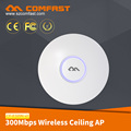 COMFAST CF-E320N V2 New Ideas 2018 Inconel Melting Point Remote Wifi Transceiver 300Mbps Ceiling Wifi AP POE
