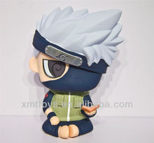 resin big anime naruto kakashi holding book action figure